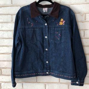 Disney Store Vintage Winnie the Pooh Denim Jacket